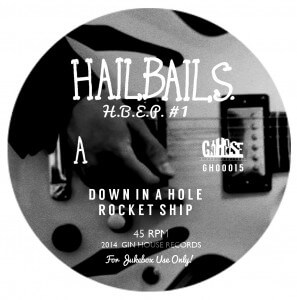 Hailbails EP Side A label